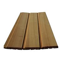 Вагонка для зашивки бани канадский кедр - высший сорт (11х94)