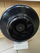 Вентилятор канальный WK-100, вентилятор на шариковом подшипнике, вентилятор промышленный