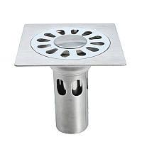 10 см Нержавеющая сталь Дренаж пола Анти Площадь запаха для Ванная комната Кухонный душ