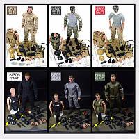NB 1/6 30 см Uniform Военный Army Combat Game Toys Солдат с розничной торговлей Коробка Action Figure Model T