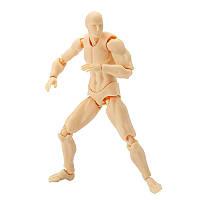 17cm 2.0 Deluxe Edition PVC Action Figure Цвет кожи Обнаженная мужская фигурка Коллекция коллекций Подарок Кукла To