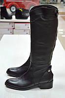 Сапоги зимние черные кожаные Slash к.-454