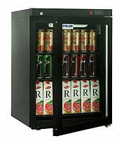 Шкаф холодильный Polair DM102-Bravo чёрный с замком