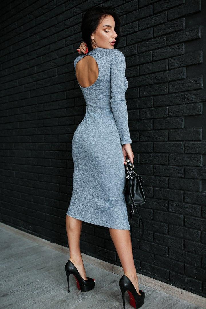 платье с вырезом на спине купить