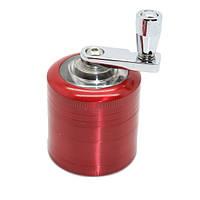 Алюминиевый 4-слойный шлифовальный станок 40 мм для дробилки дробилки для табака Травяной дым