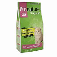 Pronature Original Kitten Chicken ПРОНАТЮР ОРИДЖИНАЛ КОТЕНОК сухой супер премиум корм для котят, с курицей , 0.35 кг.