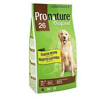 Pronature Original (Пронатюр Ориджинал) ВЗРОСЛЫЙ КРУПНЫХ сухой супер премиум корм для взрослых собак , 20 кг.
