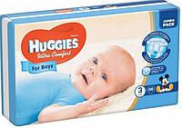 Подгузники Huggies Ultra Comfort для мальчиков 3 (5-9 кг) - 58 шт.