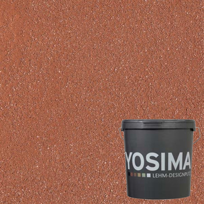 Декоративная штукатурка YOSIMA RO 0 красный 20 кг
