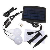 2PCS Солнечная Powered White Портативная энергосберегающая система освещения Светодиодный для Кемпинг