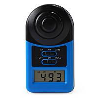 WHDZ LX1010A Цифровой фотометр 200 000 люксметр Иллюминатор Фотометр Luxmeter Light Meter Mini Pocket Size