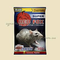 Средство для борьбы с грызунами РедФокс супер 100г