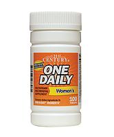 Комплекс витаминов для женского здоровья 21st Century One Daily, Women's 100 таблеток