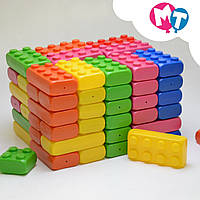 Кубики конструктор детский развивающий Мега Куб (80 шт)