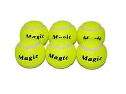 Мяч для большого тенниса, Magic PVC (6 шт.)
