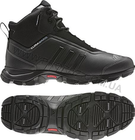 Ботинки спортивные Adidas Eiscol MID PL цвет черный, фото 2