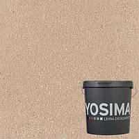 Декоративная штукатурка YOSIMA BR 2 коричневый 20 кг