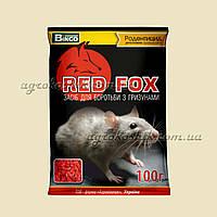 Средство для борьбы с грызунами РедФокс 100г