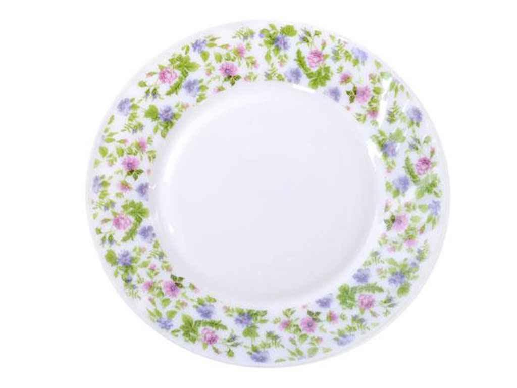"Набор мелких тарелок стеклокерамика 25.4 см (6 штук) Прованс MS17330816 ""STENSON"""