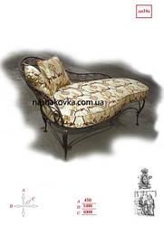 Кованые банкетки, диванчики, кушетки