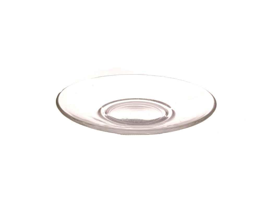 """Блюдце стеклянное d=12 см (Гламур 08с1349) """"ОСЗ"""""""