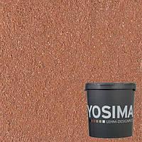 Декоративная штукатурка YOSIMA ROGE 1.0 индийско-красный 20 кг
