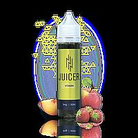 Жидкость JUICER VITAMIN (яблоко, персик и клубника) 60 мл