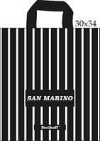"""Пакет с петлевой ручкой 30х34см. 25шт. Serikoff """"Сан Марино"""""""