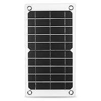 7.5W 5V Гибкий монокристаллический Солнечная Панель для зарядки для мобильного телефона