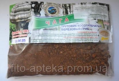 Березовый гриб (чага) 50грамм. Целебные травы Крыма