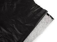 Кожа одежная дублированная черная, фото 1
