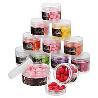 ZANLUREКурс8-14ммКурсРыбалка Приманки Всплывающиеокна Baits 9 цветов 9 ароматов Плавающие шарики для приманки