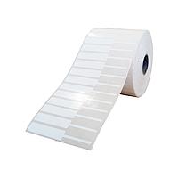 Этикетка самоклеящаяся из полипропилена для ювелирных изделий 72х10 мм, (3000 штук в рулоне)