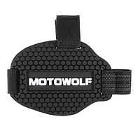 Мотоцикл Shift Guard Boot Shoes Защитный чехол Защитный чехол Черный