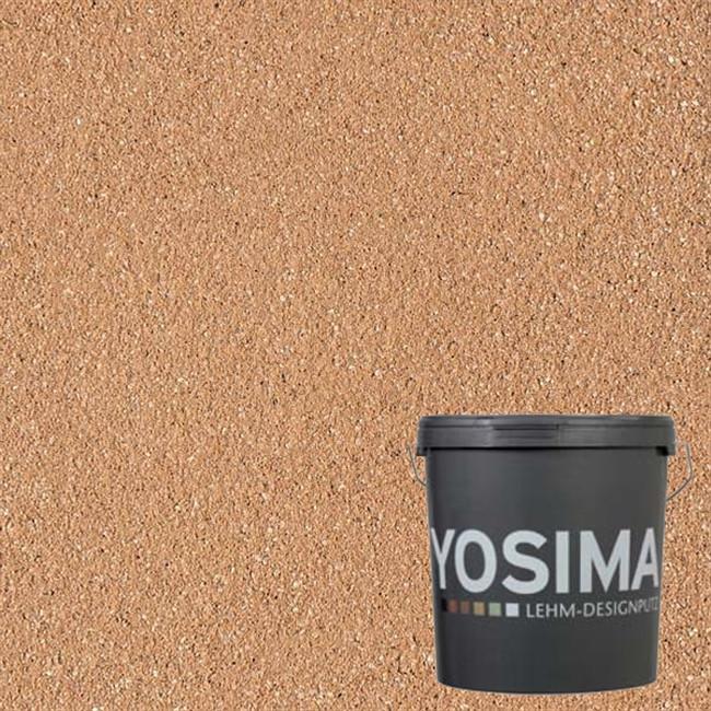 Декоративная штукатурка YOSIMA ROGE 4.0 индийско-красный 20 кг