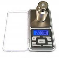 Ювелирные весы 200 грамм 0,01 грам Pocket Scale MH 200, точные весы, карманные весы