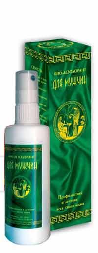 Био-дезодорант для мужчин без спирта и алюминия