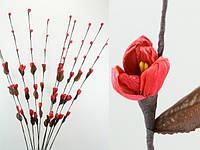 Цветок искусственный красные