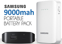 SAMSUNG Power Bank 9000 mAh, портативное зарядное устройство самсунг, зарядка, банка, внешний аккумулятор