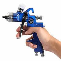 HVLP Gravity Feed Spray Инструмент Авто Краска для транспортных средств 1.4MM 1.7MM 2MM Nozzle 600CC Cu