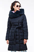 Женская зимняя куртка с мутоном Альмира 2, р-ры 42 - 56, ТМ NUI VERY, Украина