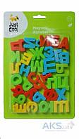 """Настольная игра Just Cool """"Касса букв"""" (HM1186A), магнитные буквы"""
