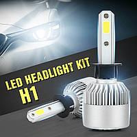 Светодиодная лампа H1 72 Вт (цена указана за 1 штуку 36 Вт) 8000LM 6500K LED HEADLIGHT