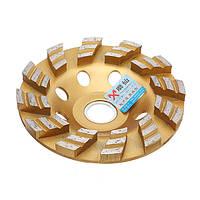 4дюймов100MMсалмазнымпокрытием Форма чаши шлифовального круга Дисковая шлифовальная машина Гранитный камень