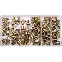 Заклепки резьбовые сталь М3-М10, 150шт YATO YT-36481