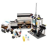 KAZIBuildingBlockПолицейскийкомандныйавтомобиль # 6727 Обучающий подарок Fidget Toys 511Pcs