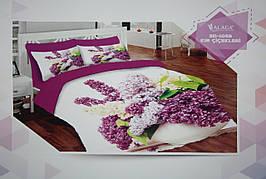 Набор постельного белья с одеялом и подушками ALACA 3D Kir Cicekleri