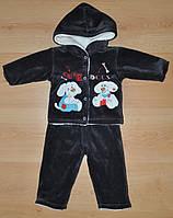 Детский теплый костюм для мальчика Palermo 68 размер