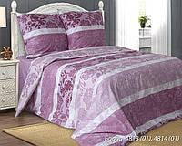 """Ткань для постельного белья, бязь люкс (100% хлопок) """"Бордо"""" - компаньен"""