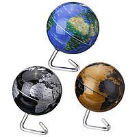 4 дюймов Диаметр Электрический вращающийся глобус Автоматический поворот 360 Dregee Desktop Desktop Map